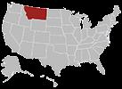 Montana map