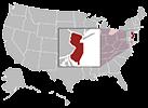 Jersey City map