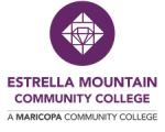 Estrella Mountain Community College logo