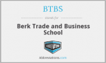Berk Trade and Business School  logo