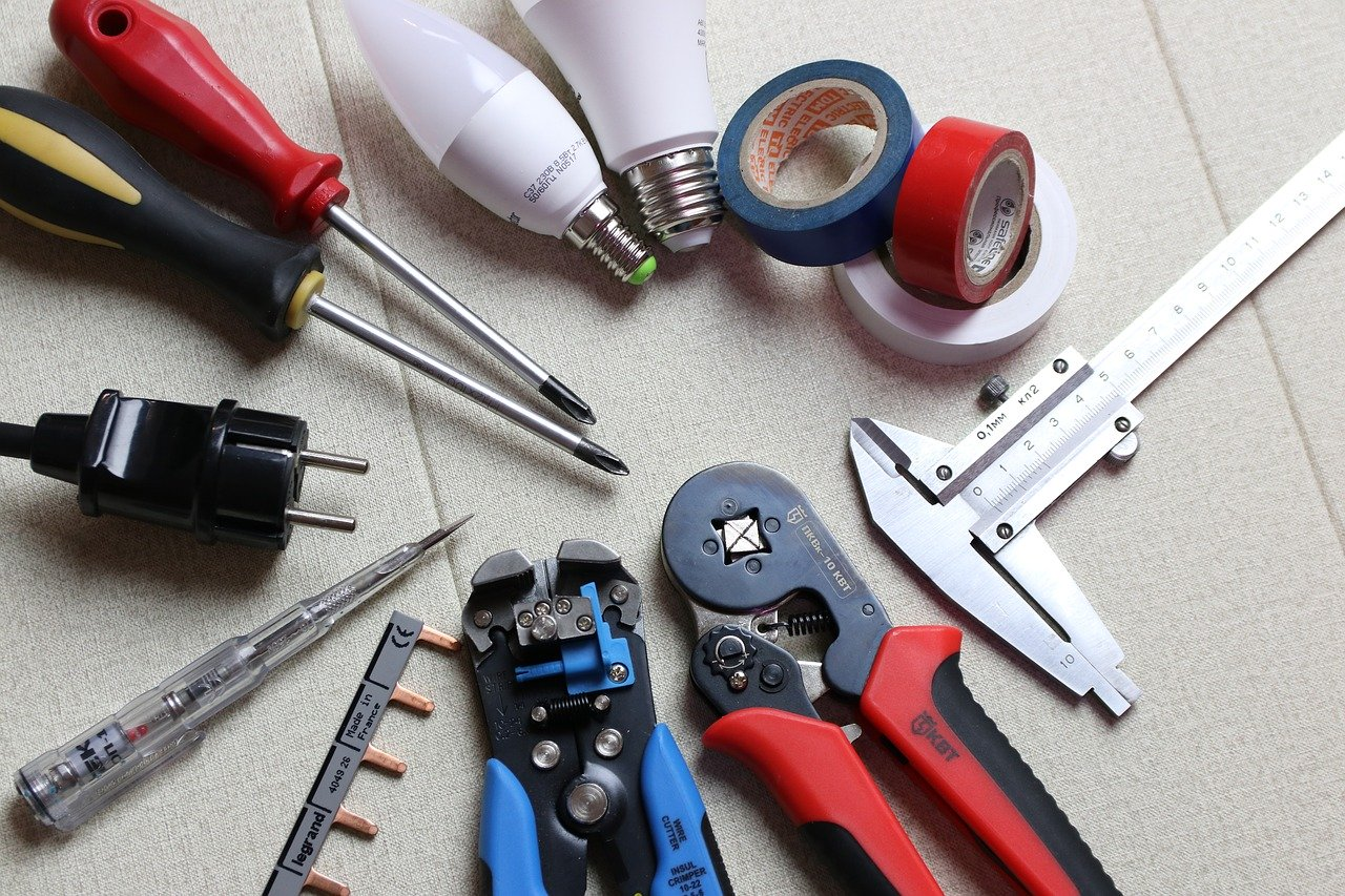 work as an electrician